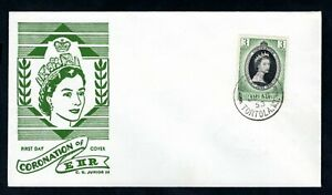 Leeward Islands - 1953 QE2 Coronation Illustrated Cover