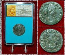 Ancient Roman Empire Coin Of CONSTANTIUS GALLUS Emperor On Boat Reverse