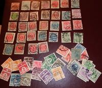 Small Collection Of Early Denmark Stamps  - Nice Lot