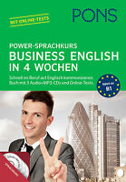 PONS Business English lernen in 4 Wochen Power-Sprachkurs Englisch for Business