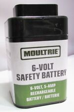 Genuine Moultrie 6-Volt Safe 00004000 Ty Battery Rechargeable Sla 5-Amp Mfhp12406 - New!