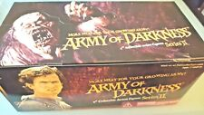 "Army of Darkness 16 piece BLIND BOX display 4"" series II"