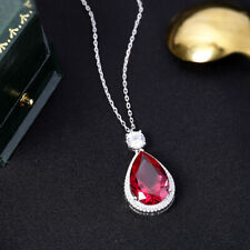 Luxury! Inspired Ruby Necklace, High Imitation Ruby Necklace, S925 Silver