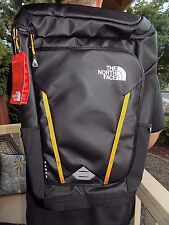 """NWT Men's The North Face Kaban Transit Backpack 17"""" Laptop Bag TNF BLACK AWESOME"""