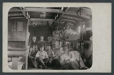 o. Foto Verwundete Landser Armee Lazarettzug Medizin Reichsbahn Rotes Kreuz 1916