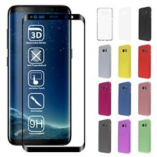 3D PANZERGLAS SAMSUNG GALAXY S7 EDGE S8 PLUS DISPLAYSCHUTZ FULL SCREEN CURVED 9H