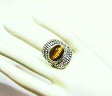 Samuel B Behnam BJC Natural Stone 925 Sterling Silver Engagement Ring Vintage