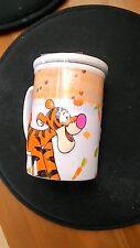 Disney TIGGER 3D Embossed  Ceramic Large Mug Cup  (made in Thailand)