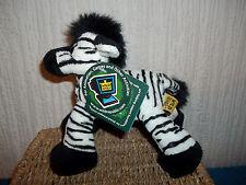 """8 """"PELUCHE, coccolone, GRAZIOSI, a Strisce Zebra Finger Puppet-Wild Republic giocattolo-NUOVA CON ETICHETTA"""