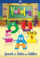 Las Vocales - Spanish DVD for Children, Kids, Toddlers, Babies - ON SALE!