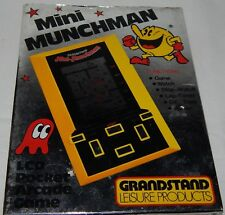 **VINTAGE MINI MUNCHMAN (PACMAN) LCD HANDHELD GAME BY GRANDSTAND IN BOX/BOXED**