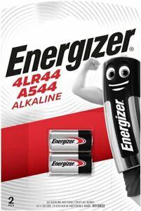 2x Energizer Alkaline Batterie A544 4LR44 PX28A 544A 2CR1/3N L1325F 2er-Blister