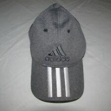 adidas 3 Stripe Baseball Cap - Grey