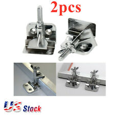 US Stock 2pcs Butterfly Frame Hinge Clamps Silk Screen Printing Hobby DIY Tool
