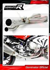 DE-CAT DECAT Cat Eliminator Down Pipe Exhaust DOMINATOR BMW S1000RR 17-18