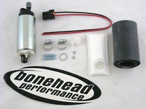 WALBRO 255LPH HP Fuel Pump w/ Install Kit for 1991-1994 Nissan Sentra SE-R SR20