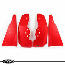 Polaris RZR XP 1000 / XP 4 1000 RZR Mud Flaps / Fender Flares FULL SET(4)  RED