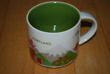 Starbucks Portland Oregon 2013 You Are Here Collection (YAH) 14oz Mug Free Ship