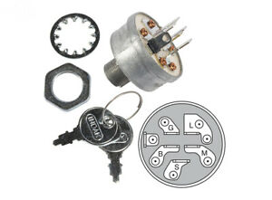 IGNITION SWITCH replaces FERRIS 5020927