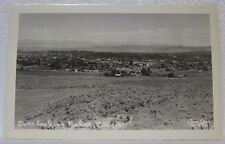 VINTAGE OLD RPPC VIEW OVER LOOKING BAKER CITY OREGON CHRISTIAN E-586  POSTCARD