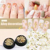 3D Nails Stamping Plates Glitter Rhinestone Nail Art Tips DIY Star Moon Manicure