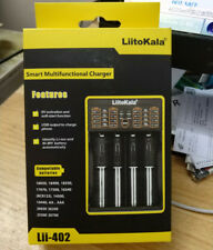 LiitoKala Lii-402 Smart Battery Charger AA/AAA for 18650 18350 Ni-MH Li-ion/IMR