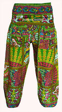 INDIAN BAGGY GYPSY HAREM PANTS YOGA MEN WOMEN BOHEMIAN ALIBABA TROUSERS 57