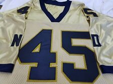 #00 College Football Jersey Your Name&Number-SEWN-ON.