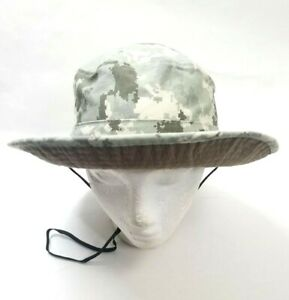 Camo Boonie Hat Richardson Hunting Cap with Neck Strap 100% Cotton  Ships Free!
