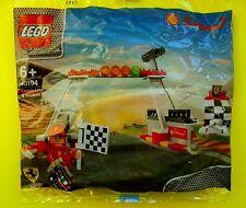 Lego Ferrari Shell 40194 Finish Line Podium Polybag Neu Ovp