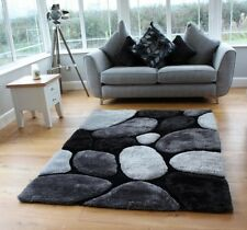 NEW LUXURIOUS THICK PILE RUG MODERN SOFT SHINY CONTEMPORARY SHAGGY RUGS MATS UK