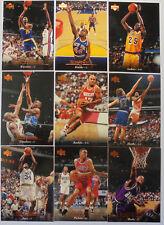 1995-96 Upper Deck NBA basketball series 1  Complete Set (#1 - 180)