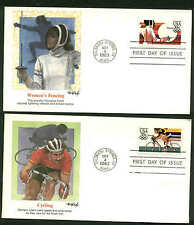 C109-C112 SET OF 4 MATCHED OLYMPICS FDC COLORADO SPRINGS, CO CACHET