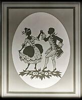 99840157 Porcellana Lithophanie Piastra Plaue Schierholz