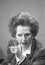 Margaret Thatcher Point BW Poster