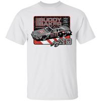 Men's Buddy Baker NASCAR Hall of Fame Class of 2020 White T-Shirt S-5XL