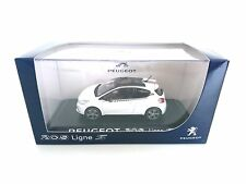 Peugeot 208 Ligne S White NOREV 472806 1/43 Weiss blanche Blanc