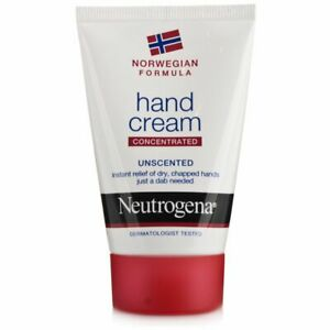 NEUTROGENA Hand Cream Concentrated Unscented for Dry Chapped Hands 50ml 1.7 oz.