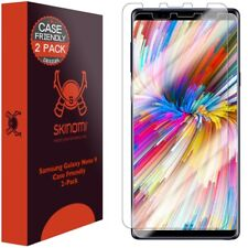 Skinomi Clear (2-Pack) CASE FRIENDLY Screen Protectors For Samsung Galaxy Note 9