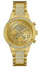 GUESS 40mm Women's Stainless Steel Crystal Accented Watch U0850L2 MSRP $165