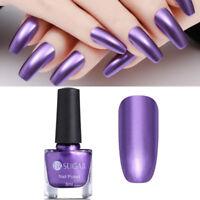 6ml UR SUGAR Purple Mirror Metallic Nail Art Polish Manicure Varnish Decoration