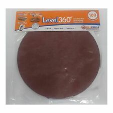 "Full Circle Int'l 5-pack Level 360 8-3/4"" round sanding discs 100 Grit (Sd100-5)"