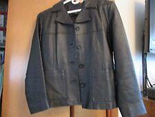 women's leather Short Jacket Black size S
