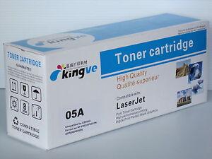 1pk Compatible Black Laser Toner for HP 05A CE505A  HP LaserJet P2030 P2055