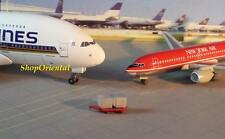 Dragon Wings Airport Gse Passenger Ground Luggage Cargo Red Trolley 1:400 Gse_8b