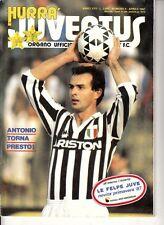 HURRA' JUVENTUS=N°4 1987=SCIREA=PAVAROTTI=CABRINI COVER=