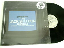Stand By For JACK SHELDON Ray Brown Jake Hanna LP Ross Tompkins