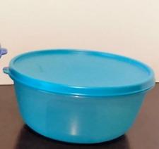 Tupperware 1.5L Modular Space Saver Bowl -Aqua Blue Brand New