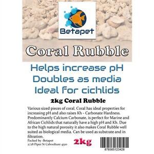 Betapet Coral Rubble 2kg (10mm)