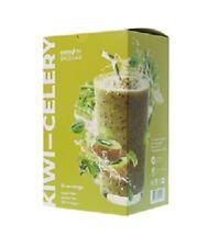 Smoothie,Kiwi-celery.Natural detox.Smoothie-detox.Energy Diet Smoothie